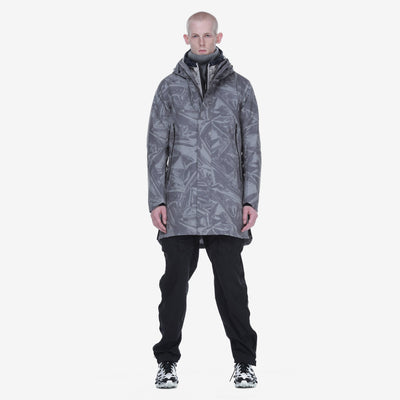 Gotstyle - Krakatau Jackets Shadow Print 3-in-1 Waterproof Hooded Light Parka