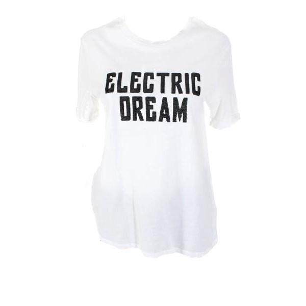 """""""Electric Dream"""" Glittered Graphic Tee"""