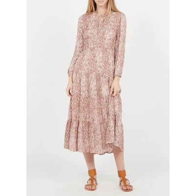 Gotstyle - Suncoo Dresses Printed Round-Neck Midi-Dress