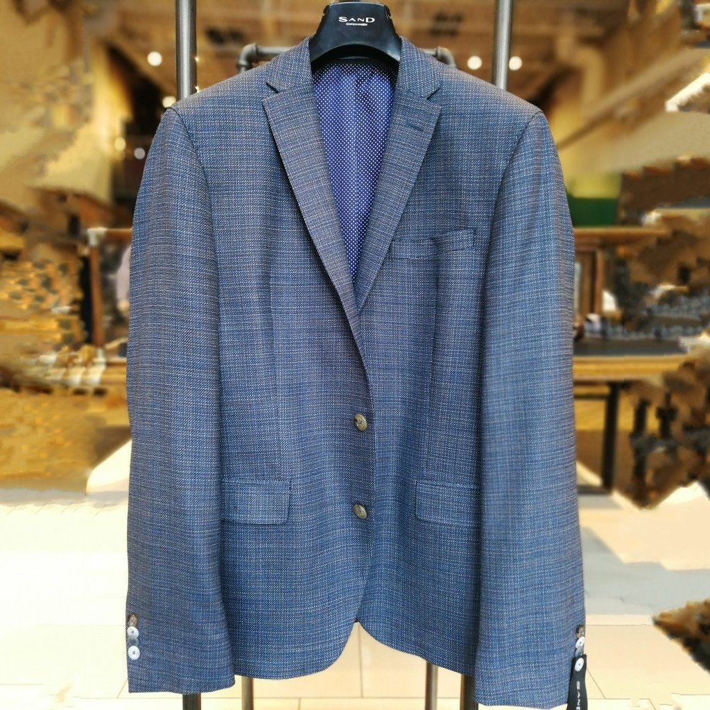 Wool Sport Coat Navy - Gotstyle The Menswear Store