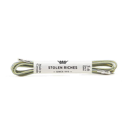 Gotstyle - Stolen Riches Gifts Fun Coloured Shoe Laces - Andreas Stripe