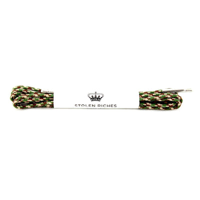 Gotstyle - Stolen Riches Gifts Fun Coloured Shoe Laces - Camo Green