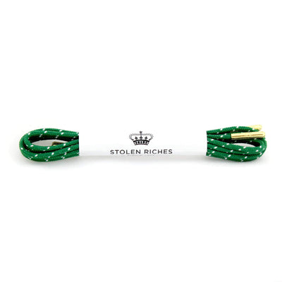 Stolen Riches Gifts Fun Coloured Shoe Laces - Hollins Green - Gotstyle The Menswear Store
