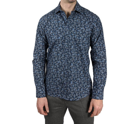 Gotstyle - Sand Copenhagen Collar Shirts Mini Paisleys Print Shirt