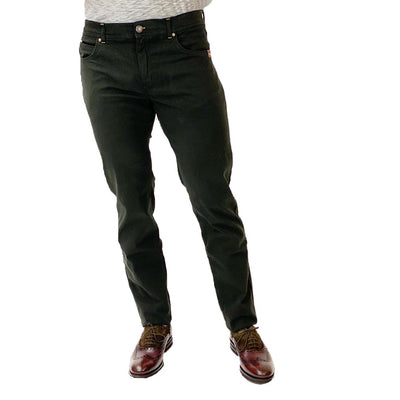 Gotstyle - Sand Copenhagen Pants Soft Stretch 5-Pocket Slim Fit Jeans - Dark Army