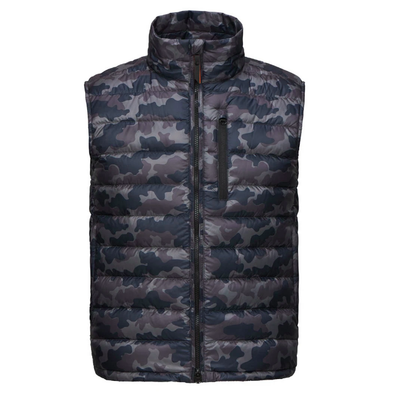 Swims Jackets Portland II Down-Filled Camo Vest - Gotstyle The Menswear Store