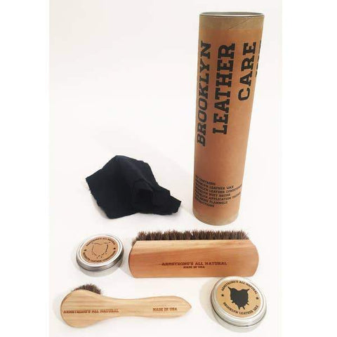 Faire Gifts Armstrong All Natural - Tubular Leather Care Kit - Gotstyle The Menswear Store
