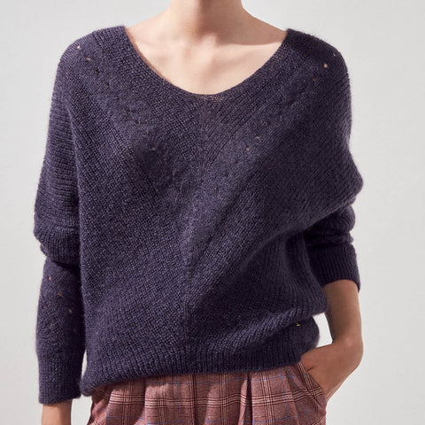 Precious Oversized Wool Mohair Sweater - Gotstyle The Menswear Store