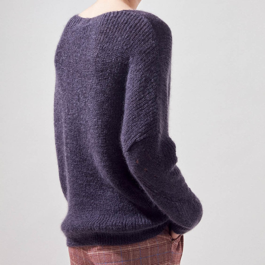 Suncoo Sweaters Precious Oversized Wool Mohair Sweater - Gotstyle The Menswear Store