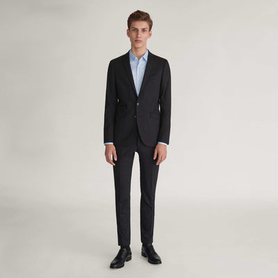 Gotstyle The Menswear Store Suits Tiger of Sweden Solid Wool Slim Fit Suit Separates - Black - Gotstyle The Menswear Store