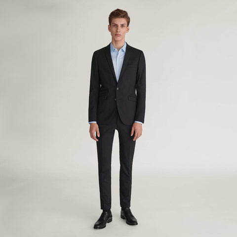 Gotstyle The Menswear Store  Tiger of Sweden Solid Wool Slim Fit Suit Separates - Black - Gotstyle The Menswear Store