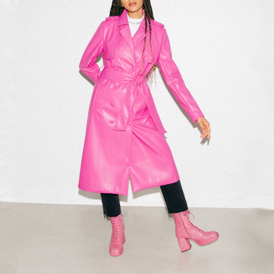 Gotstyle - Hilary MacMillan Coats Buttoned Trench Coat