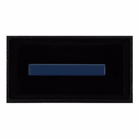 Solid Steel Blue Tie Clip - Gotstyle The Menswear Store