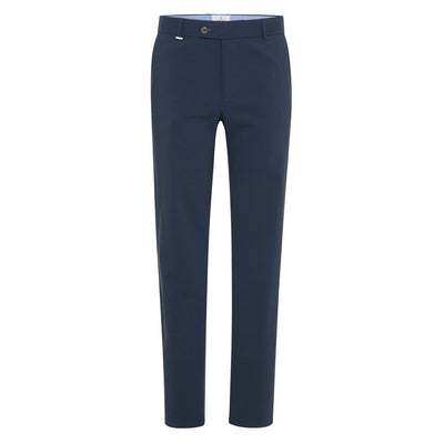Gotstyle - Blue Industry Pants Tapered Fit Cotton Stretch Tech Chino - Navy