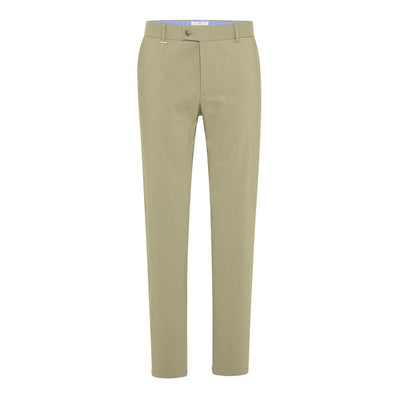 Gotstyle - Blue Industry Pants Tapered Fit Cotton Stretch Tech Chino - Olive