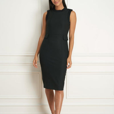 Gotstyle - Iris Setlakwe Dresses Fitted Sleeveless Dress with Knit Trims