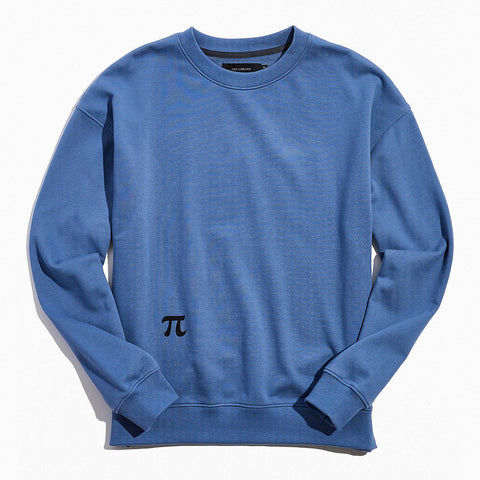 Tee Library MS - Sweaters - Casual Pi Crew Sweatshirt - Gotstyle The Menswear Store