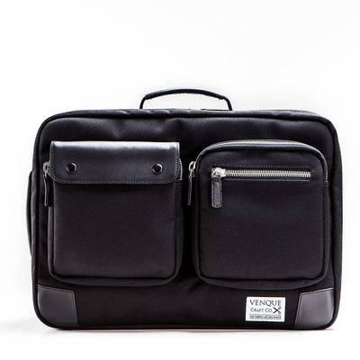 Venque Bags Venque XL Black BE Briefback - Gotstyle The Menswear Store