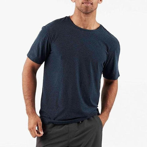Vuori MS - Casual Tops - Tshirts Strato Tech Tee - Navy - Gotstyle The Menswear Store