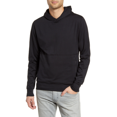 Vuori Sweatshirts Ponto Performance Pullover Hoodie - Black - Gotstyle The Menswear Store