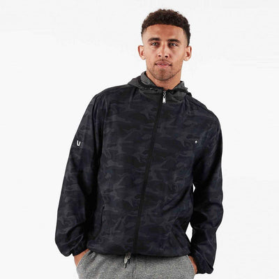 Outdoor Trainer Hooded Camo Shell - Gotstyle The Menswear Store