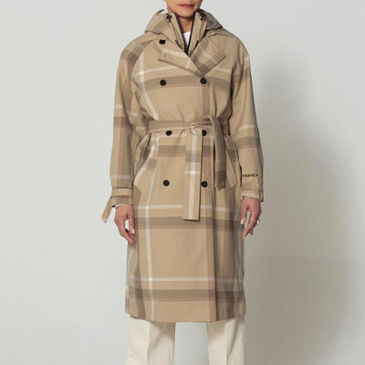 Gotstyle - GoFranck Jackets Lightweight Checked Trench Coat