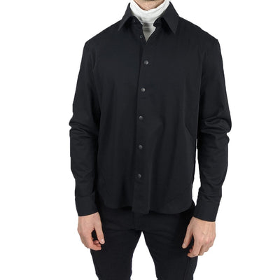 Walter Wraith Collar Shirts Snap Button LS Stretch Shirt - Gotstyle The Menswear Store