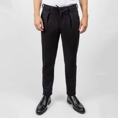 Circolo 1901 Pants Soft Touch Jersey Drawstring Pant - Gotstyle The Menswear Store