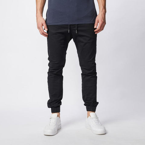 Zanerobe MS - Bottoms - Sureshot Type Sureshot Jogger - Black - Gotstyle The Menswear Store
