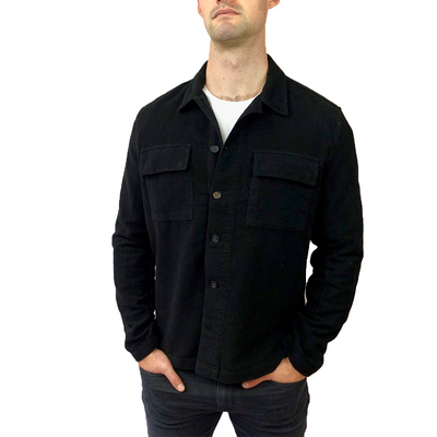 Suede Touch Shirt Jacket - Gotstyle The Menswear Store