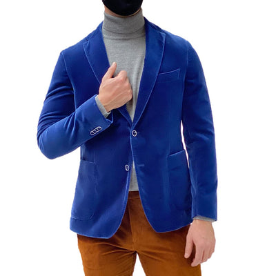 Gotstyle - Van Gils Blazers Elray Soft Velvet Patch Pocket Blazer