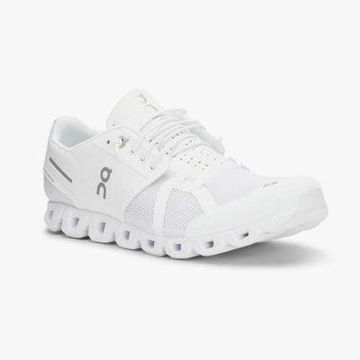 On Running Shoes Cloud Fully Cushioned Running Sneaker - White - Gotstyle The Menswear Store