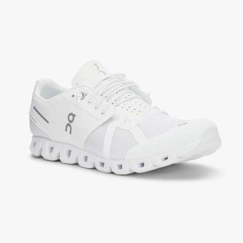 On Running Footwear Cloud Fully Cushioned Running Sneaker - White - Gotstyle The Menswear Store