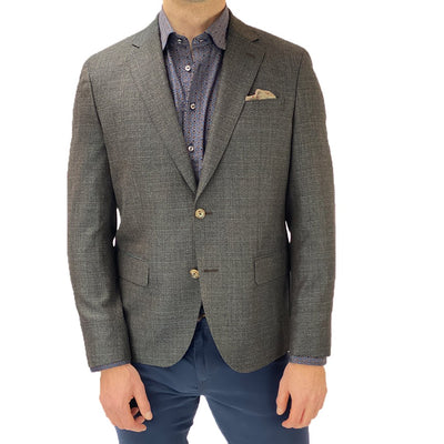 Textured Wool Hopsack Blazer - Gotstyle The Menswear Store