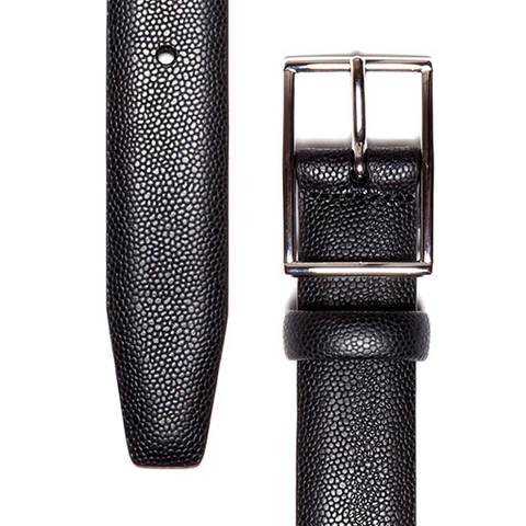 Pebbled Leather Belt - Gotstyle The Menswear Store