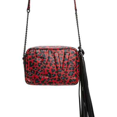 Gotstyle - Zadig & Voltaire Bags XS Boxy Initials Leopard Print Leather Bag