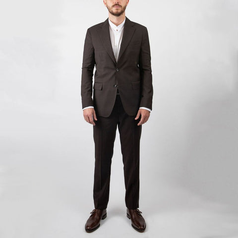 0909 MT - Suits Tonal Glen Plaid Wool Suit - Gotstyle The Menswear Store