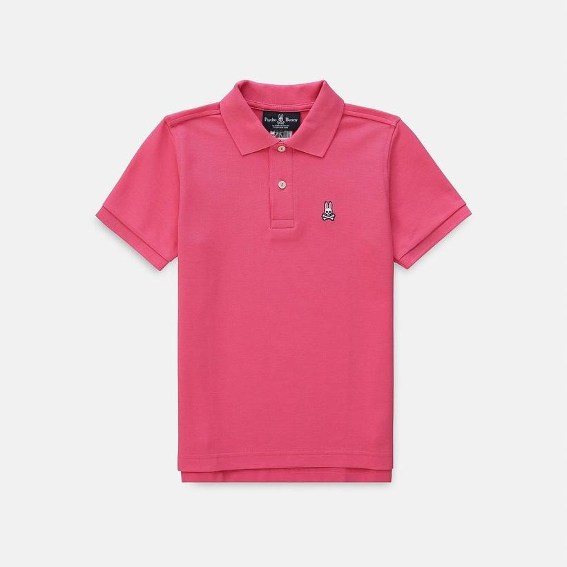 Boys Classic Polo Pink