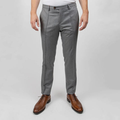 Slim Fit Barberis Wool Dress Pant