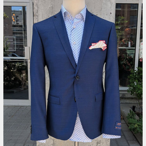Paul Betenly MT - Suits Griffin Wool Blazer - Cobalt - Gotstyle The Menswear Store