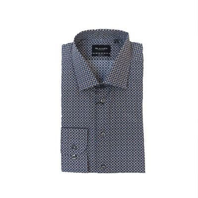 Sand - Micro Geo Print Shirt - Gotstyle The Menswear Store