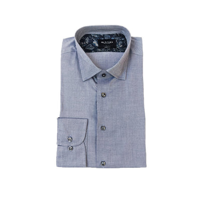 Sand Copenhagen Collar Shirts Soft Cotton / Lyocell Twill Shirt - Blue - Gotstyle The Menswear Store