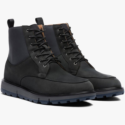 Swims Shoes Motion Country Waterproof Boot Black - Gotstyle The Menswear Store