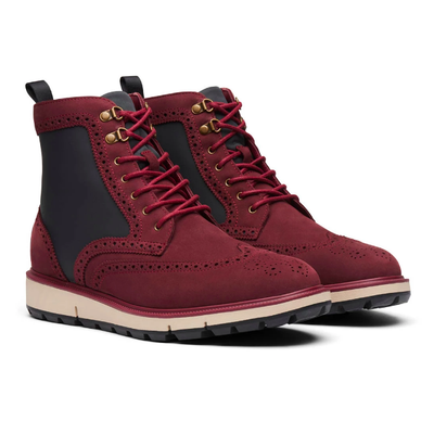 Gotstyle - Swims Shoes Motion Wing Tip Waterproof Nubuck Leather Boot