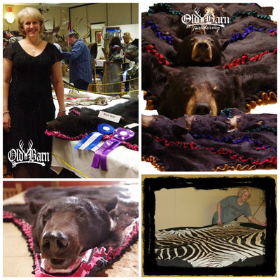 Skinning a Bear for a Rug Mount - VIDEO