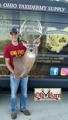 Old Barn Taxidermy Happy Customer - Southeast Iowa