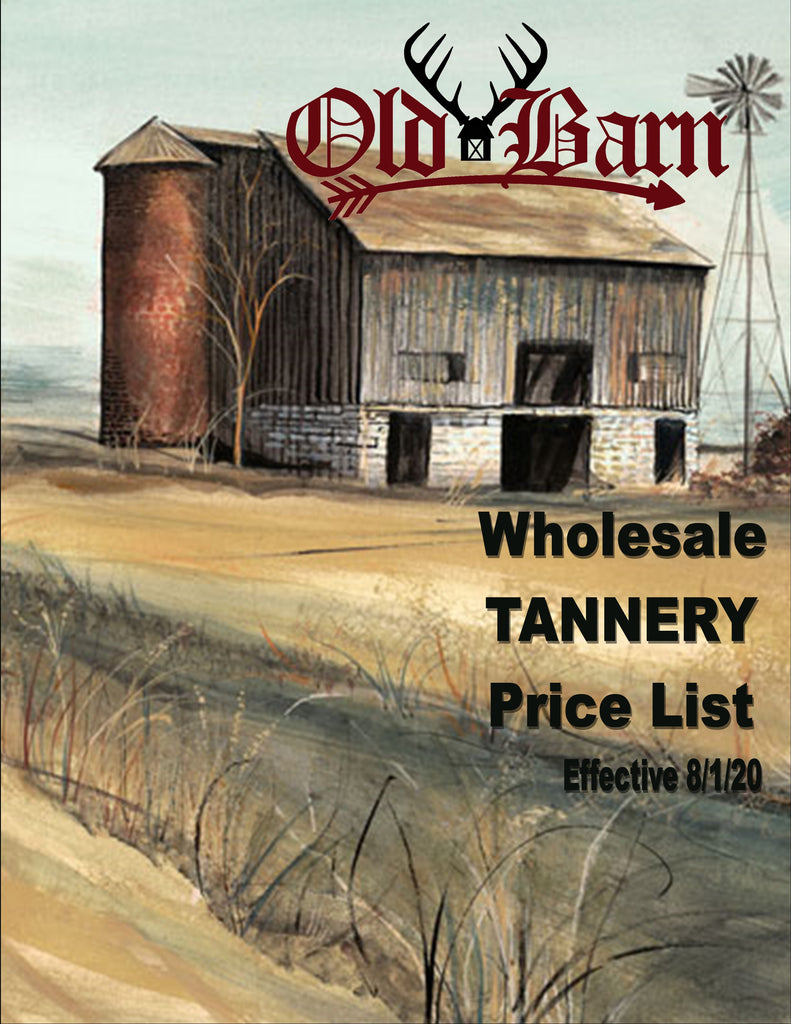 Old Barn Tannery - Cover Page