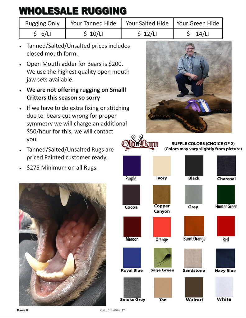 Wholesale Tannery Price List - Page 3