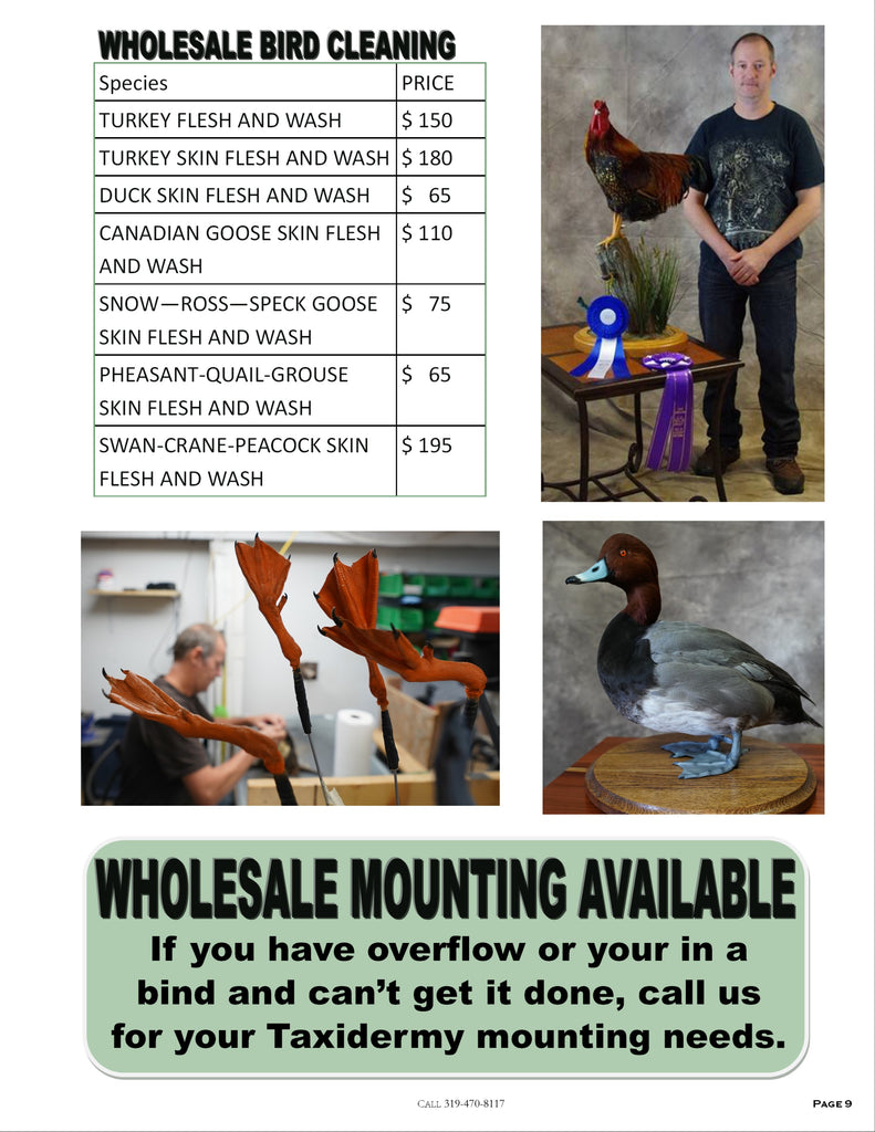 Old Barn Tannery 2020 Price List - Page 6