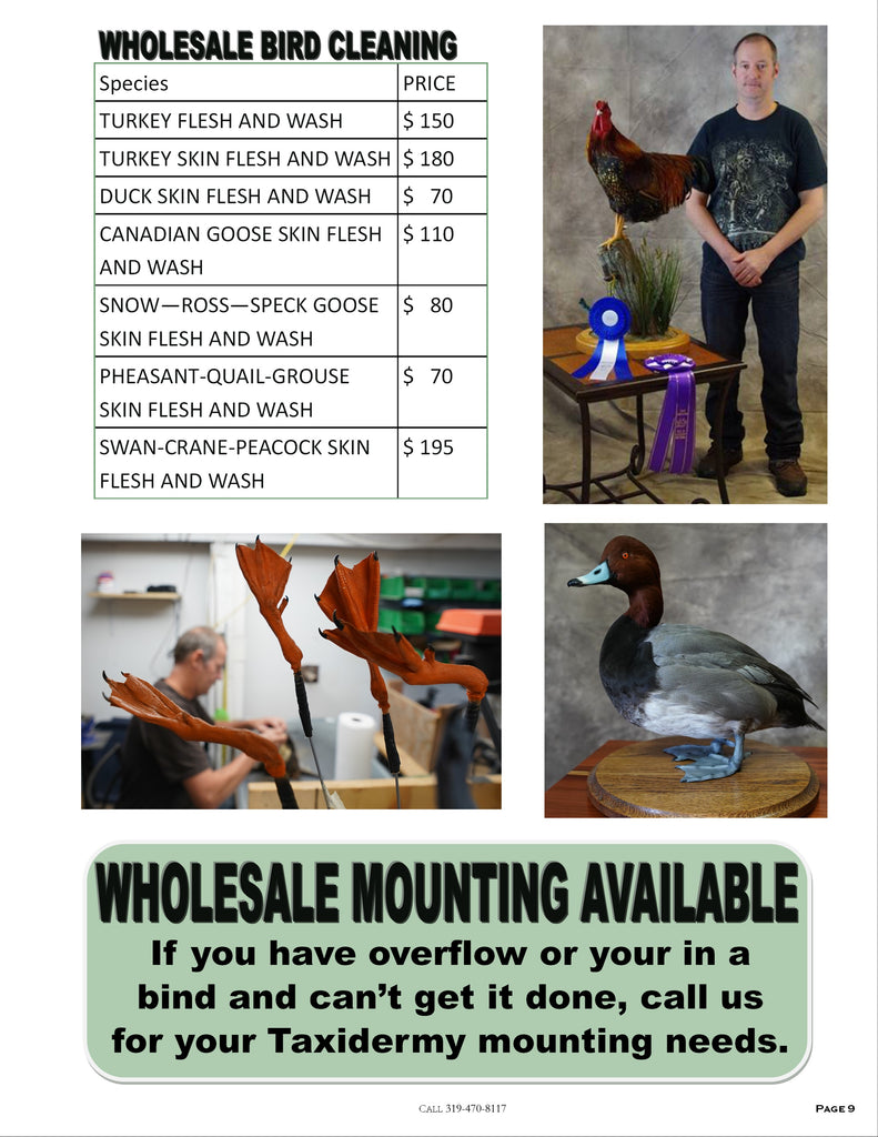 Old Barn Tannery Wholesale Pricelist - Page 9